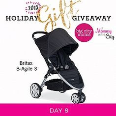 Holiday Gift Giveaway: Day 8 Britax B-Agile 3