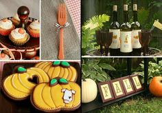 "Great online mag -- Bird's Party. Fall edition. Love the ""little pumpkin"" themed baby shower"