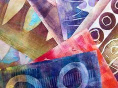Printing with Gelli Arts®: Gelli™ Printing on Nonwoven Fusible Interfacing