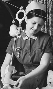 Queen Mary's Hospital nurse 1970's Carshalton Surrey Vintage Nurse, Queen Mary, Local History, The Good Old Days, Surrey, Nursing, Captain Hat, The Past, Old Things