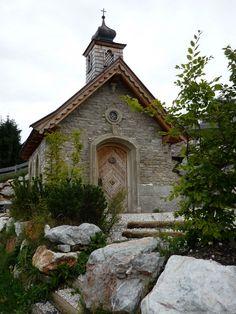 Ellmau am Wilden Kaiser, Kapelle am Brenner Alm (Kufstein) Tirol AUT