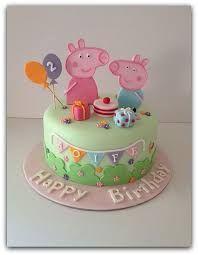 Resultado de imagen para torta de peppa pig
