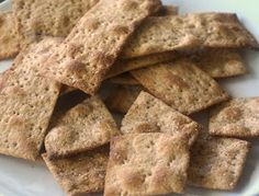 Cerealitas galletas de harina integral 100% ~ Pasteles de colores Diabetic Recipes, Veggie Recipes, Gluten Free Recipes, Real Food Recipes, Yummy Food, Healthy Recipes, Healthy Food, Salada Light, Pan Bread