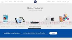 The recharge section of the Reliance Jio website has now mentioned Jio broadbandand Jio Set top box. The Reliance Jio's Summer Surprise is no more valid, but the number of services from Reliance Jio is being increased and it is hopeful that it would be growing much in the future. Trending...