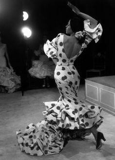 Flamenco dancer.  Beautiful.  Look at the lines and textures of this photo.... gorgeous.