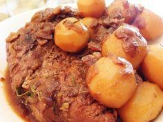 Lombinho de Porco Assado com Batata Bolinha - http://www.casarnaoengorda.com.br/recipes/lombinho-de-porco-assado-com-batata-bolinha/
