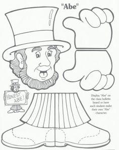 Lincoln washington crafts   jpeg dltk s crafts for kids abraham lincoln toilet paper roll craft ...