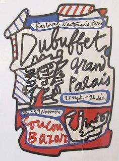 Jean Dubuffet, Grand Palais Coucou  Bazar