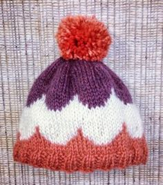 This sweet treat is more than just a fashionable winter accessory. The Ice Cream Sundae Hat is a cozy knit hat pattern perfect for knitters who are looking to get their feet wet in the Fair Isle knitting pond.