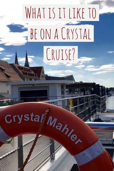 Have you thought about going on a Crystal Cruise? I will tell you what it is like to go on a German river cruise, as well as the Main and the Danube Rivers. Travelling Tips, Europe Travel Tips, Travel Guides, Places To Travel, Travel Destinations, Travel Plan, Crystal River Cruises, Luxury Cruise Lines, Best Travel Websites