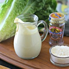 Quick and easy to whip up and made with only clean ingredients - this homemade Caesar dressing will quickly become your go-to!