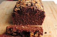 Dark Chocolate Banana Bread with Coconut (Sub Flour) | Tasty Kitchen Blog