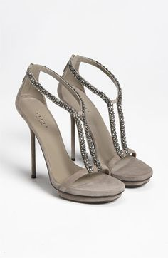 Gucci 'Naomi' Sandal   Nordstrom....Love to get these but I can not walk in heals for the life of me.