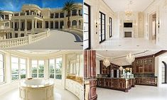Modeled after the Palace of Versailles in France, this roughly 60,500-square-foot Florida mansion is  America's most expensive home. Located in Hillsboro Beach, Florida, Le Palais Royal, costs $159million.