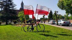 Patriotyczne motywy zawsze na propsie zwłaszcza że w tym roku obchodzimy  lat Odzyskania przez Polskę Niepodległości.  #polska #swietoflagi #cycling #roadcycling #roadbike #szosa #strava #proveit #cycling #bikestagram #instabike #rower