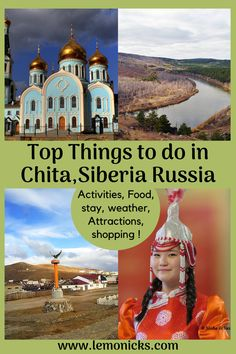 Top things to do in Chita, Siberia. Siberia is a place which is not visited by many people. Contrary to belief, there is so much to do in Chita including #TransSiberian trains! #travel #Siberia #Russiatravel #Thingstodo #lemonicks Europe Travel Tips, Travel Guides, Places To Travel, Bali Travel, Luxury Travel, Amazing Destinations, Travel Destinations, Visit Russia, Worldwide Travel