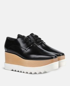d31e2ef62914 Black Elyse Shoes - Stella Mccartney