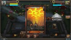 Infinity Wars is a free-to-play animated Digital Trading Card Game TCG