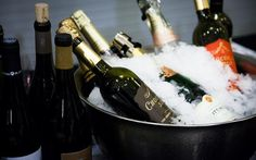 #Wine. #Champagne. #Ice. #Cold.