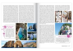Travel Magazine Layout - Stephanie Guler / Design Portfolio