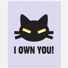 I Own You Print, $19, now featured on Fab.