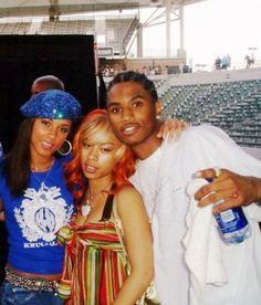 HUGEThrowback Of Alicia Keys, Trey Songz & Keyshia Cole