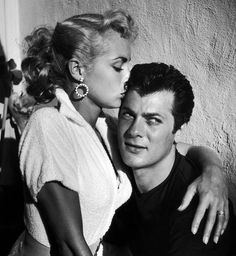 Tony Curtis and Janet Leigh