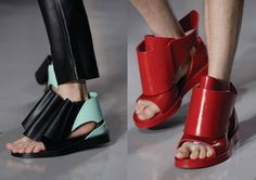 SS 2014 SHOES COLLABORATION - YOUNGWON KIM