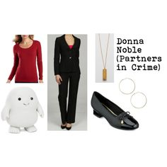 """Donna Noble"" by doctorwhodressing on Polyvore"