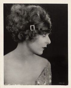 Blanche Sweet portrait from Tess of the D'Urbervilles by Clarence Sinclair Bull