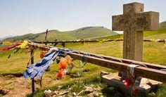 Erste Etappe, Top der Pyreneen.  23 km aufwärts- 7km abwärts...nach Roncevalles