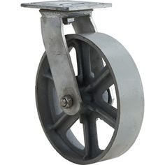 8in. Swivel 1000-Lb. Capacity Steel Caster