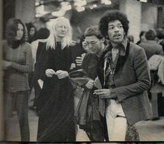 Jimi and Johnny Winter