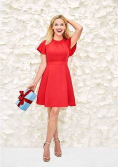 Reese Witherspoon Christmas Dress