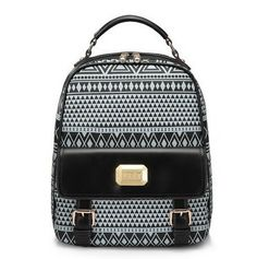 Free Shipping 2013 New Fashion Women School Leather Bag Designers Brand Print Backpacks Bags 170655 in Aliexpress - $46,90