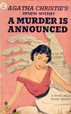 .Agatha Christie    #books  http://www.pinterest.com/francesjkey/old-book-covers/ ~~~  http://www.pinterest.com/emily8708/agatha-christie/