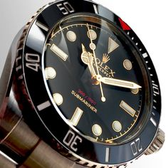"""Gloss & Gilt. The Tempus Machina Limited Edition """"Red Depth"""" 216A Submariner"""