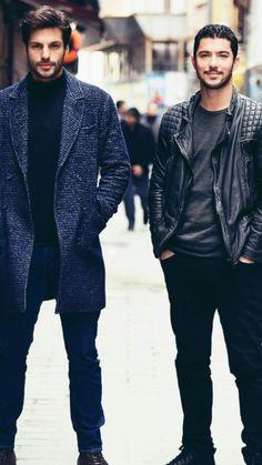 Turkish Men, Turkish Fashion, Turkish Actors, Cherry Season, Beard Styles, Male Beauty, Men Looks, Photo Poses, Handsome Boys