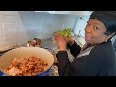 Authentic Jamaican Oxtail Recipe from our Mom & Grandma. She loves hearing your comments and kind words. Thank you for being so lovely and sweet to her. Authentic Jamaican Oxtail Recipe, Jamaican Oxtail Stew, Jamaican Cuisine, Jamaican Dishes, Jamaican Recipes, Jamaican Appetizers, Oxtail Recipes, Beef Recipes, Cooking Recipes