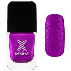 This glitter purple speartes the girls from, well, the other girls. Whatever. Try it with with a bright summer red. The Best Neon Nail Polish   Into The Gloss