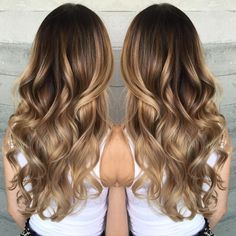 Oh, you know... Just a little balayage... By Butterfly Loft stylist Janai.