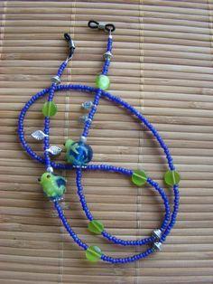 Froggin Eyeglass Chain by boogiebead on Etsy, $14.95