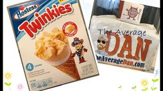 Hostess® Twinkies Ice Cream Cone Taste Test And Review