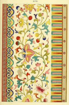 Examples of Chinese Ornament (1867), more at Public Domain Review, via Flickr