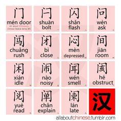Chinese men door