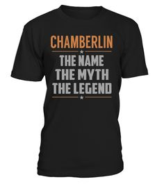 CHAMBERLIN - The Name - The Myth - The Legend #Chamberlin