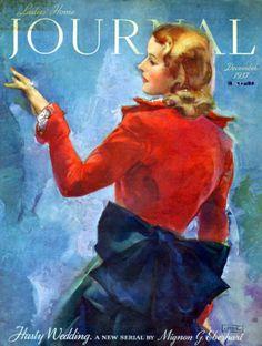 1937 Ladies Home Journal Magazine Cover BY John Lagatta