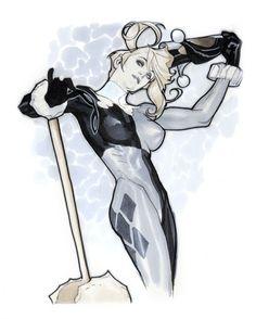 Harley Quinn by Adam Hughes by ernestine