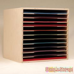 Ikea Expedit Paper Holder Storage 8.5x11 12x12