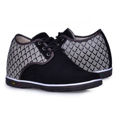 Look for best Black men height casual shoes become taller 7cm / 2.75inches with the SKU: MENJGL_1205_2 at Tooutshoes online store